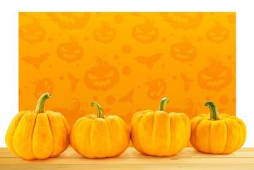 pumpkin wall banner halloween