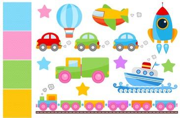 Cute Transportations