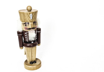 Vintage Christmas wooden nutcracker