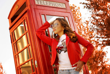 beautiful kazakh woman model posing