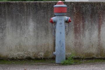 Feuerwehr Hydrant auf der Straße