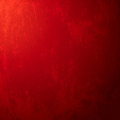Red Christmas background. Vector illustration.