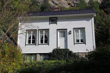 Wohnhaus in Geiranger, Norwegen