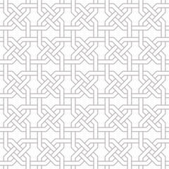 Traditional Arabic seamless ornament. Geometric pattern seamless for your design.  Desktop wallpaper, interior decoration, graphic design.