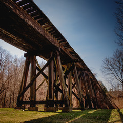 The Franklin Train Trestle