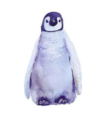 watercolor illustration Penguin