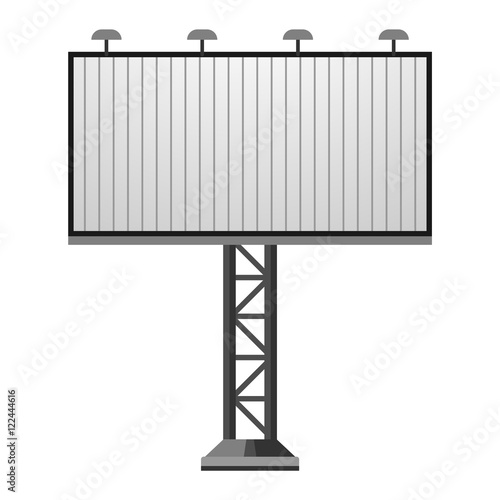 Advertisement Billboard Template Vector Stock Image And Royalty