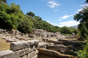 Ruines de Butrint, Albanie.