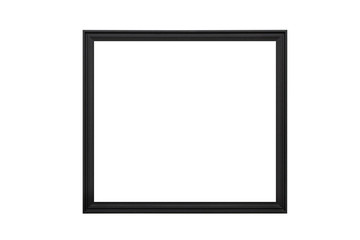 wooden empty picture frames