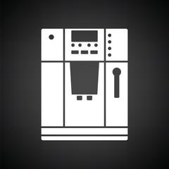Kitchen coffee machine icon
