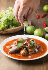 Spicy Canned Sardine Salad