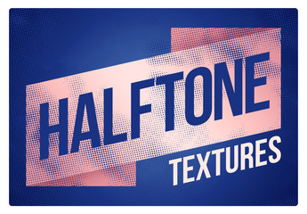 Handmade Halftone Textures