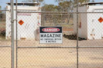 Explosives Magazine Enclosure