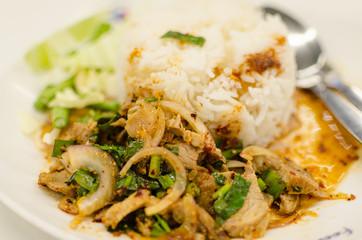 Rice Grilled Pork