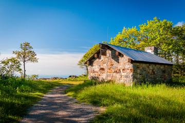 Shelter on Hawksbill Summit, in Shenandoah National Park, Virgin