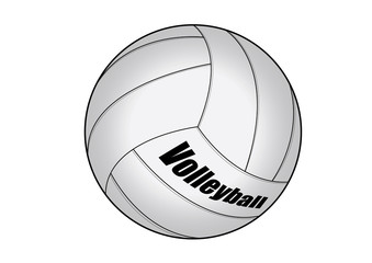 vector illustration graphic Volleyball  Equipment Sports