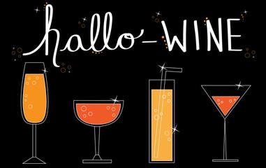 Hallo Wine Drinks