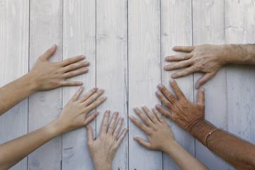 symbolizing hands