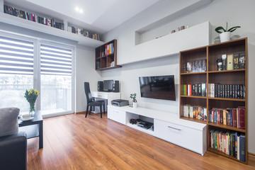 TV living room in modern style