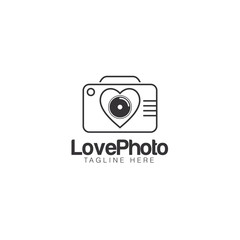 Photography Creative Concept Logo Design Vector