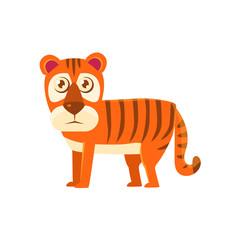 Tiger Toy Exotic Animal Drawing