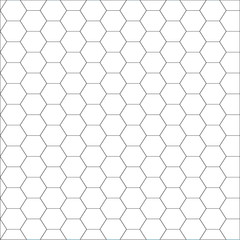 Vector illustration of seamless geometric pattern with honeycombs