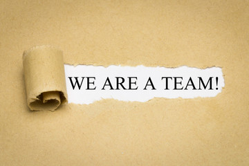 We are a Team!