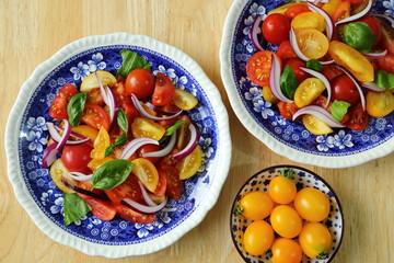 Tomato salad.