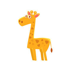 Giraffe Toy Exotic Animal Drawing