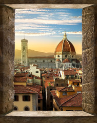 Florence from window