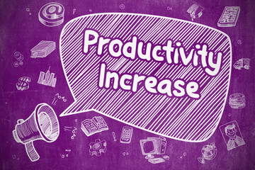 Productivity Increase - Business Concept.