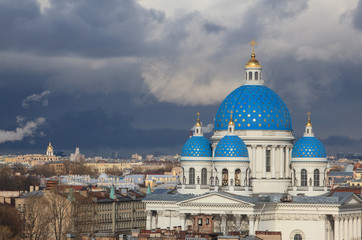 The Trinity Cathedral in Saint Petersburg, Russia