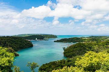 沖縄県 ワルミ海峡
