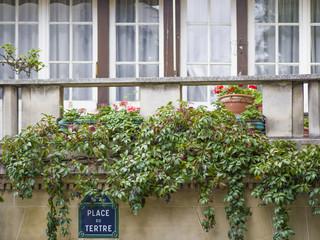 Wall Mural - Place du Tertre - Paris