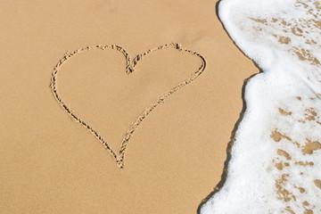 Wall Mural - Beach Love