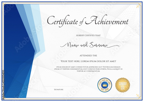 Modern certificate template for achievement appreciation modern certificate template for achievement appreciation participation yelopaper Choice Image