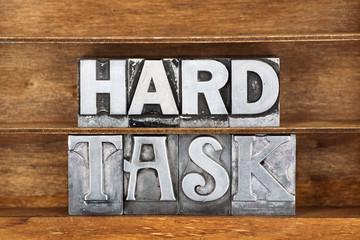 hard task tray