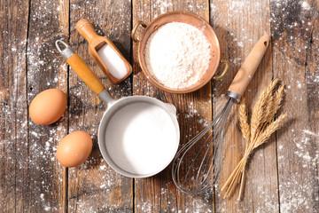 baking ingredient and utensil
