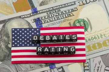 Rating debates on the US presidency