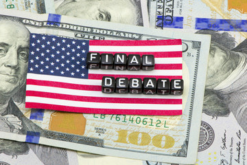 The final debate in the US
