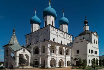 A view of Vysotsky monastery, Serpukhov city,Moscow region.