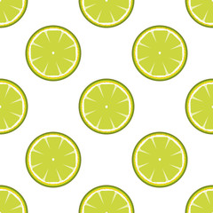 Lime abstract seamless pattern