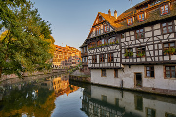 Half-timbered houses in Strasbourg