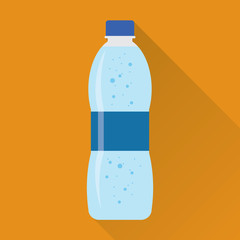 Bottle of Fresh Water Flat Icon