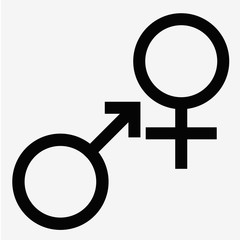 man and  lady toilet sign  male  female symbols