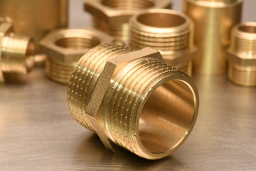 Brass Fittings for Water and Gas Wall mural