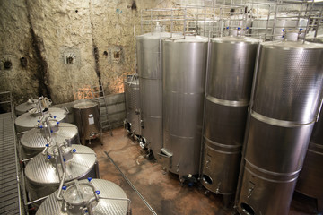 Italy: winemaking (Franciacorta)