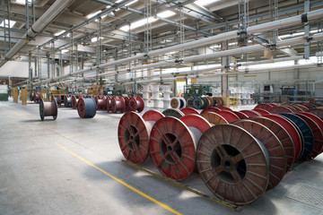 Factory - Production electrical wires