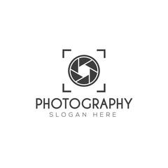 Photography logo creative design vector