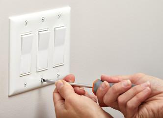 Switch repairing.